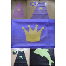 Capa Infantil De Friselina . Princesa/ Principe/ A Elección