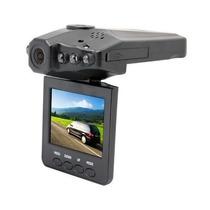 Câmera Hd Video Filmadora Automotiva Tela Lcd + 2 Baterias