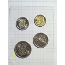 España Prueba Numismatica Madrid 4 Piezas Fabrica Nacional