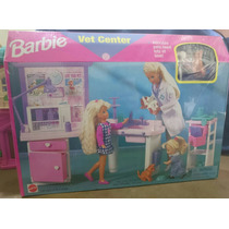 Barbie Centro Veterinária Da Barbie Original Móveis Mattel