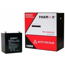 Kit Energizador Para Cerca Eléctrica Pm-enrg100 + Bateria E