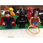 Coleccion Liga De La Justicia Dc Comics Compatible Lego