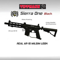 Tippmann Sierra One Marcadora Gotcha Paintball Rifle Pistola