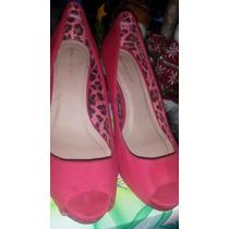 Zapatos Tacones Rojos Suite Blanco Como Nuevos 37