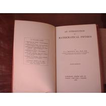 Libro Antiguo De Física Matemática De 1929