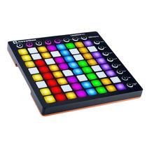 Controladora P/ Ableton Live Com 64 Pads Novation Launchpad