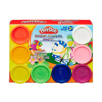 Massinha De Modelar Play-doh Kit C/ 8 Potes Hasbro