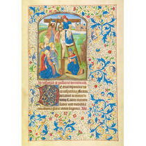 Lienzo Tela Manuscritos Iluminados Retiro La Cruz Arte Sacro