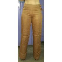 Guayabera Pantalón De Dama 100% Lino