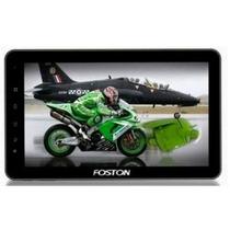 Tablet E Gps Foston, Android 4, 3g Embutido, Telefone 2 Chip