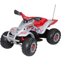 Quadriciclo Peg-perego Corral T-rex Prata El.12v