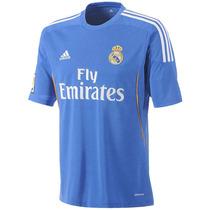 Playera Segunda Real Madrid 13/14 Hombre Adidas Z29405