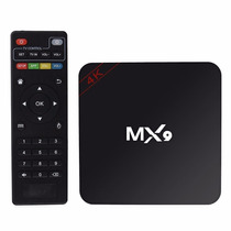 Media Player Tv Box Mx9 Hevc H2.65 Quadcore Android 4k Kodi