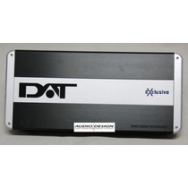 Amplificador Dat Exclusive Ex5 - 1400w Rms 5 Canais Ex 5