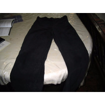 Pantalon Vestir Negro Tela Tipo Aterciopelada Taal Equipe 3