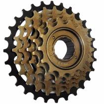 Catraca Roda Livre 6v Mtb Rosca 14/28d Bicicleta Bike 18v
