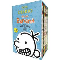 Box - Diário De Um Banana - 8 Livros - Jeff Kinney - Lacrado