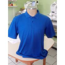 Camisa Polo Com Bordado Uniforme Personalizado Masc Fem