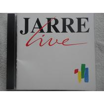 Jean Michel Jarre - Live (1989) Cd Francês , Raro
