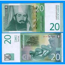 Yugoslavia Billete De 20 Dinara Año 2000 Sin Circular