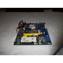 Placa Mãe 945gc-f7 775 Ddr2 Sata Pciexpress Máximo 4gb 100%