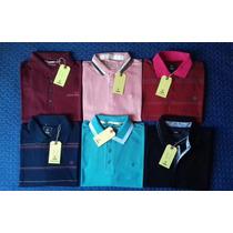 Camisa Polo Fórum Masculina Vermelha Nova Coleção -tm G