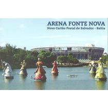 Postal Futebol Brasil Arena Fonte Nova Ba *
