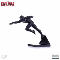Black Panther Captain America Civil War Iron Studios Estátua