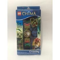 Lego Legends Of Chima - Crawley - Reloj, Nuevo! 9000416