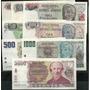 Serie De 8 Billetes Pesos Argentinos Sin Circular