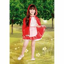 Disfraz De Caperucita Roja Varios Talles Candela