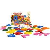 Brinquedo Pedagógico Alfabetização - Alfabeto Móvel Colorido