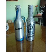 Lote Dos Botellas Cerveza Quilmes Aluminio En La Plata
