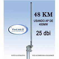Antena Omnidirecional 25dbi - Internet Wireless Via Rádio
