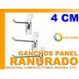 Gancho Panel Ranurado 4.5 Cm Industria Comercio Bodega Pyme