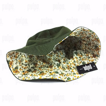 Sombrero Piluso De Algodón Reversible Unisex Gorro Pescador