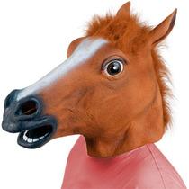 Cabeça De Cavalo Látex Cosplay Máscara Cavalo Pronta Entrega