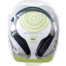 Fone D Ouvido Headset Microfone Xbox 360 Online Frete Gratis