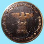 Medalla Escuela Militar Libertador Bernardo O Higgins.