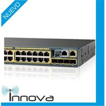 Switch Cisco Catalyst 2960-s Series 24 Puertos Poe+ (tienda)