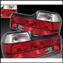 Focos Traseros Rojo Y Blanco Bmw Serie 7 E32 88/94