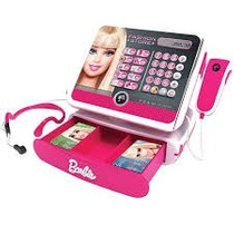 Caixa Registradora Luxo Barbie - Intek