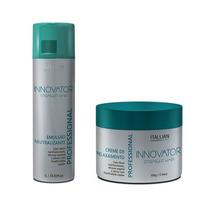 Itallian Innovator Kit De Relaxamento Straight Hair Amônia