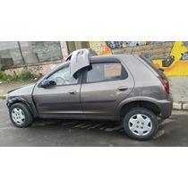 Sucata Chevrolet Celta 2014 Trazeira Motor Cambio Porta Capo