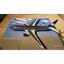 Aeromexico 777 Cromado Escala 1/400 Dragon Wings --rebajado-