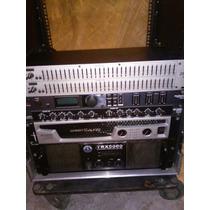 Rack Sound Barrier, Trx 5000, Crest Cc2800, Dbx 2231