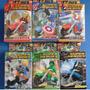 Kit Vingadores Com 12 Peças Motos E Herois