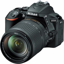 Camara Nikon D5500 24.2 Mp - 18-140mm F/3.5-5.6g Vr Touch