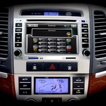Central Multimídia Santa Fé Hyundai Santafe Gps Dvd + Cam Ré