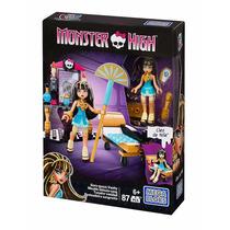 Mega Bloks Monster High Cleo Penteadeira Sangrenta 87 Pçs